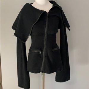 Vintage Lululemon dramatic  workout jacket